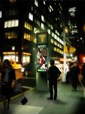 Smartphone-Like, 'NYFi' Touchscreen Payphone Wins NYC Design Challenge